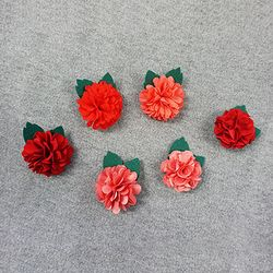 Gomgom Carnation Brooch