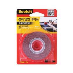 3M 스카치 자동차 내장용 강력 양면테이프