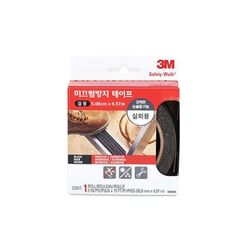 3M 논슬립 미끄럼방지 실내겸용 회색 7647