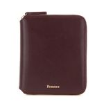 Fennec Multi Zipper Wallet 002 Wine