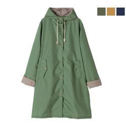 Bicolor hooded (R-1065) 레인코트