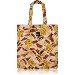 Buger & Fries Flat Tote Bag