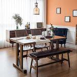 고메 리코 1400 식탁 세트(벤치+의자2)