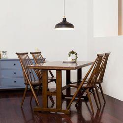 고메 리코 1400 식탁 세트(의자4)