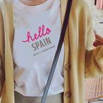 여행 기념 티셔츠 - hello abroad (문구인쇄가능)