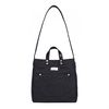 CANVAS TWO-WAY BAG (black)