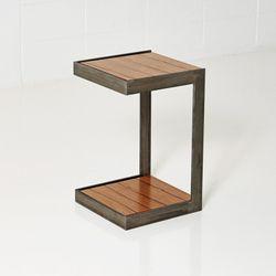 TABLE 003 - 무늬목 사이드 테이블