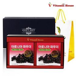 아로니아 파우더 2통(200g)선물세트