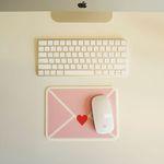 Love Letter Mousepad