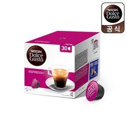 돌체구스토 캡슐 커피 대용량 에스프레소 30캡슐