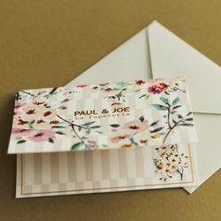 PAUL & JOE Message card-PAJ-GC2