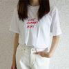 프렌치 무드 반팔 티셔츠 (2color)