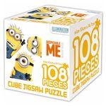 슈퍼배드 큐브 직소 퍼즐 108조각 삼총사