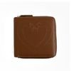 Klover Stitch Wallet-Brown