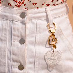 Klover Key Ring-Silver