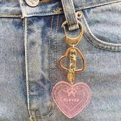 Klover Key Ring-Pink