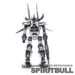 3D 로봇 메탈퍼즐 미니 스피릿불(SPRITBULL)