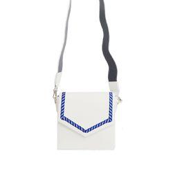 Sailor Chain BagPure-White