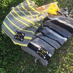 drawing my paradise knit eco bag