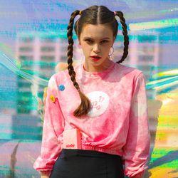 Cali Sweatshirt-Pink