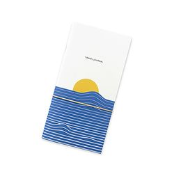 Travel journal-sunrise blue