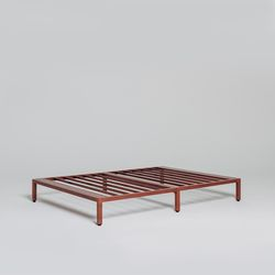 침대 프레임 로즈브라운 슈퍼싱글(SS)