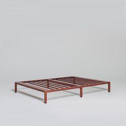 침대 프레임 로즈브라운 퀸(Q)