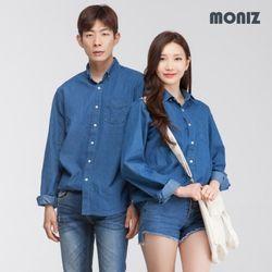 브이 원포켓 데님셔츠 (3color) SHT429