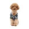 강아지 여름옷 하와이안 셔츠 - 네이비