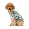 강아지 여름옷 하와이안 셔츠 - 화이트