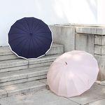 16 frame long umbrella 우양산