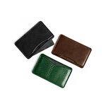 일본 도치기 천연 베지터블가죽 슬림 카드&명함 지갑