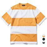 밴웍스 빅 스트라이프 티셔츠 (VNAGTS101)