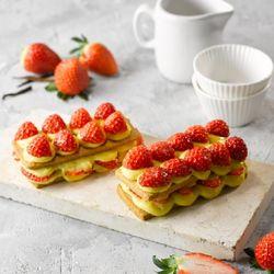 프렌치 딸기 타르트 만들기 - 베이킹 박스