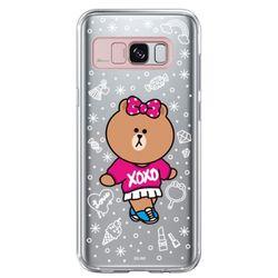 갤럭시S8플러스 라인프렌즈 라이팅 - CHOCO XO