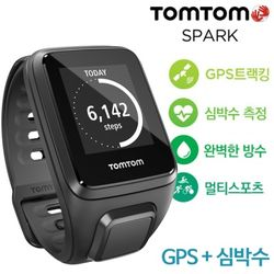 [TomTom] 스파크 Spark Cardio(심박수) GPS 피트니스