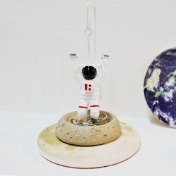 우주인 클립홀더