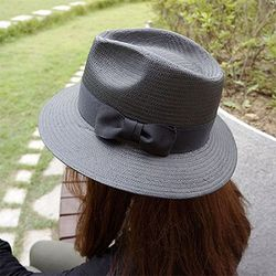 [자체제작]하이퀄리티 파나마햇 (black)