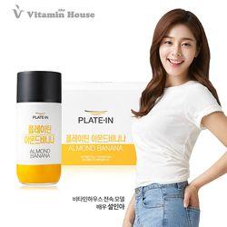 플레이틴 단백질 쉐이크 아몬드 바나나 1세트(10병입)