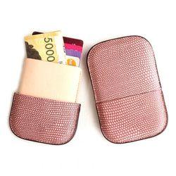리자드 명함지갑 카드케이스(핑크)w36025