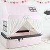 유아침대 범퍼하우스-핑크라떼XL (B프리미엄세트)