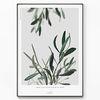 메탈 식물 나뭇잎 액자 올리브 나무 사이로 [대형]