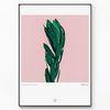 메탈 식물 나뭇잎 포스터 액자 Love Plants [대형]