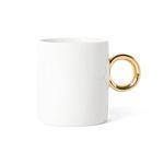 yellow gold mug