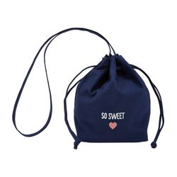 Bucket Shoulder Bag Navy (SA10850117ANV)