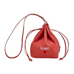 Bucket Shoulder Bag Coral (SA10850117ACR)