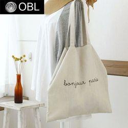 OBL 프렌치 린넨 에코백(컬러6종)