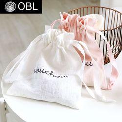 OBL 슈슈 린넨 파우치(컬러6종)