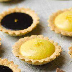 레몬 초콜릿 가나슈 타르트 만들기 - 베이킹 박스