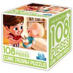 보스 베이비 큐브 직소 퍼즐 108조각 내 동생